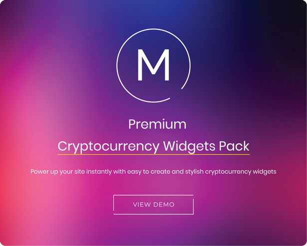 cryptocurrency widgets for wordpress